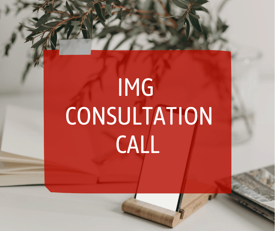 IMG single consultation call with Sterling Healthcare Resourcing