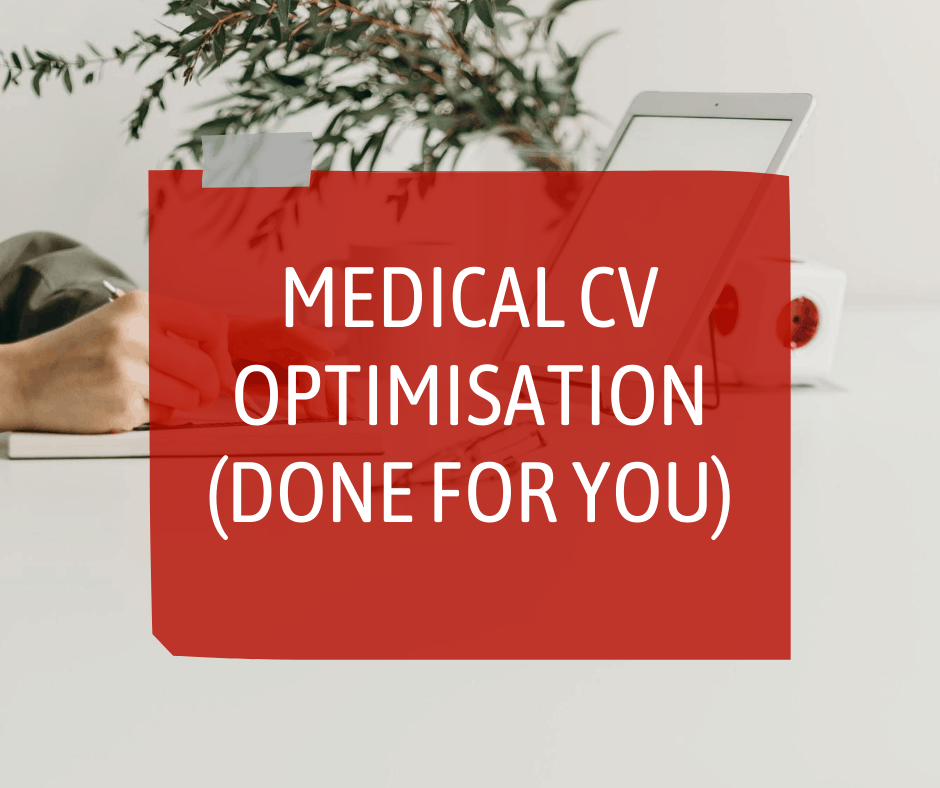 Medical CV optimisation service with Sterling Healthcare Resourcing