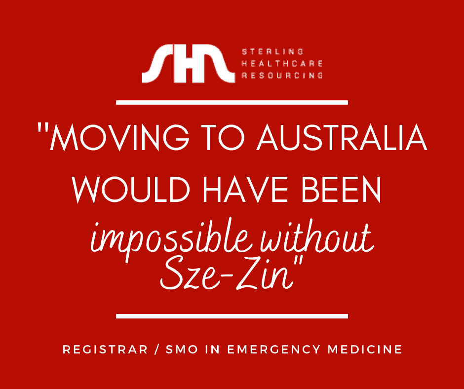 Move to Australia as IMG on Sterling Healthcare Resourcing
