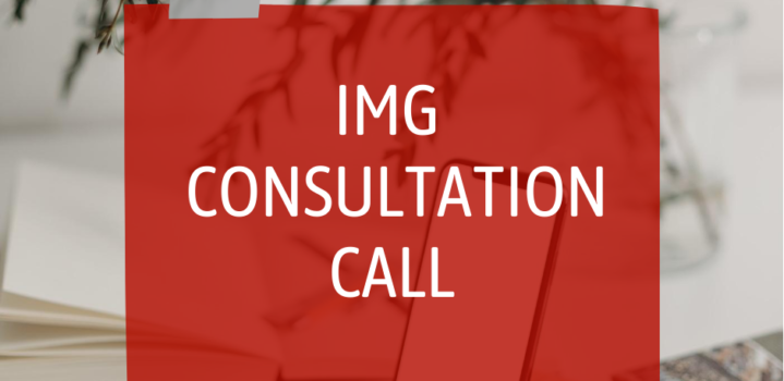IMG Consultation Call