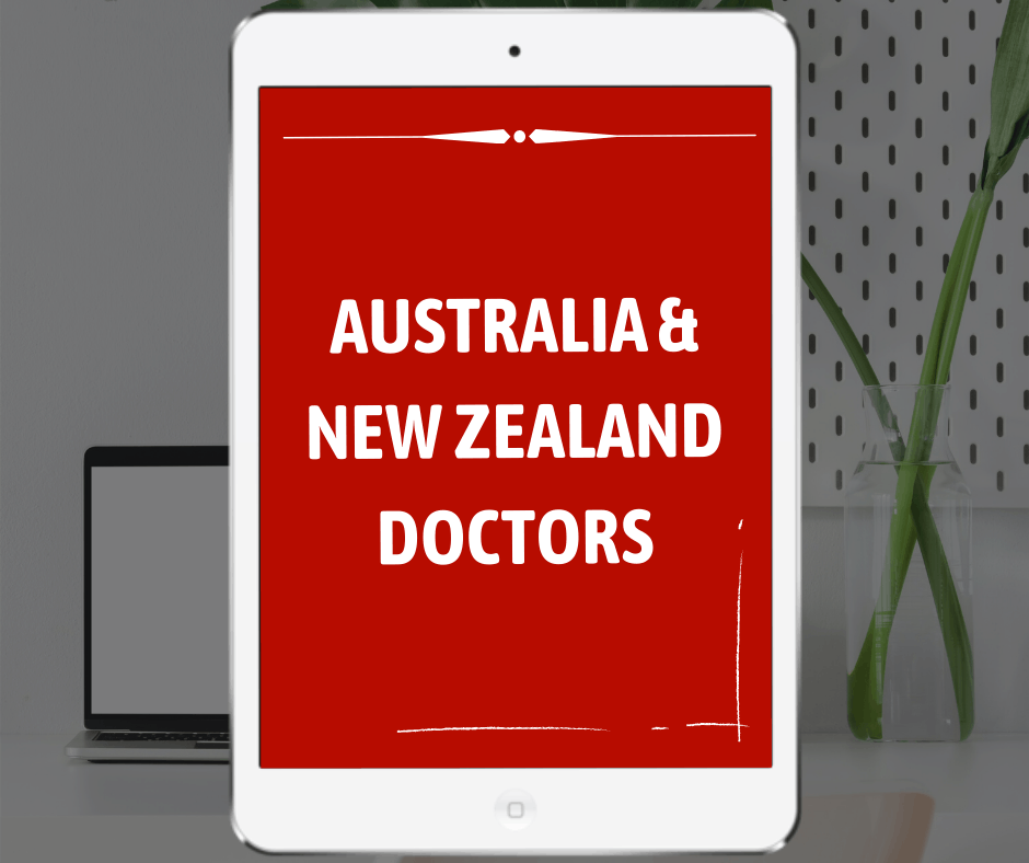 Services for Australia New Zealand doctors on Sterling Healthcare Resourcing