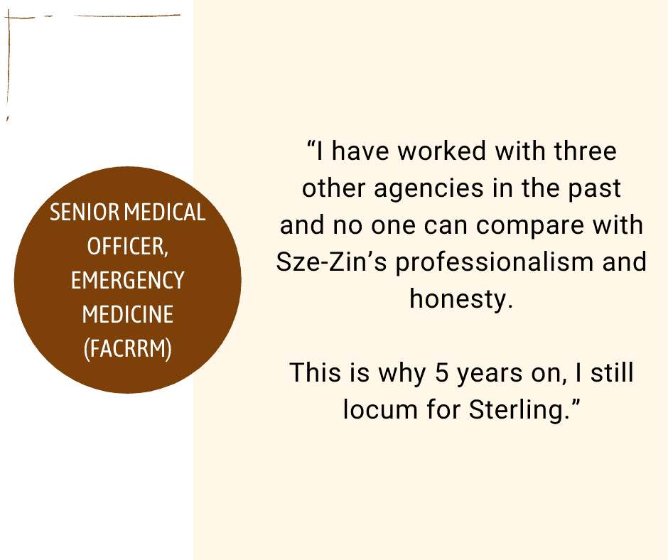Sterling Healthcare Resourcing success story testimonial 07