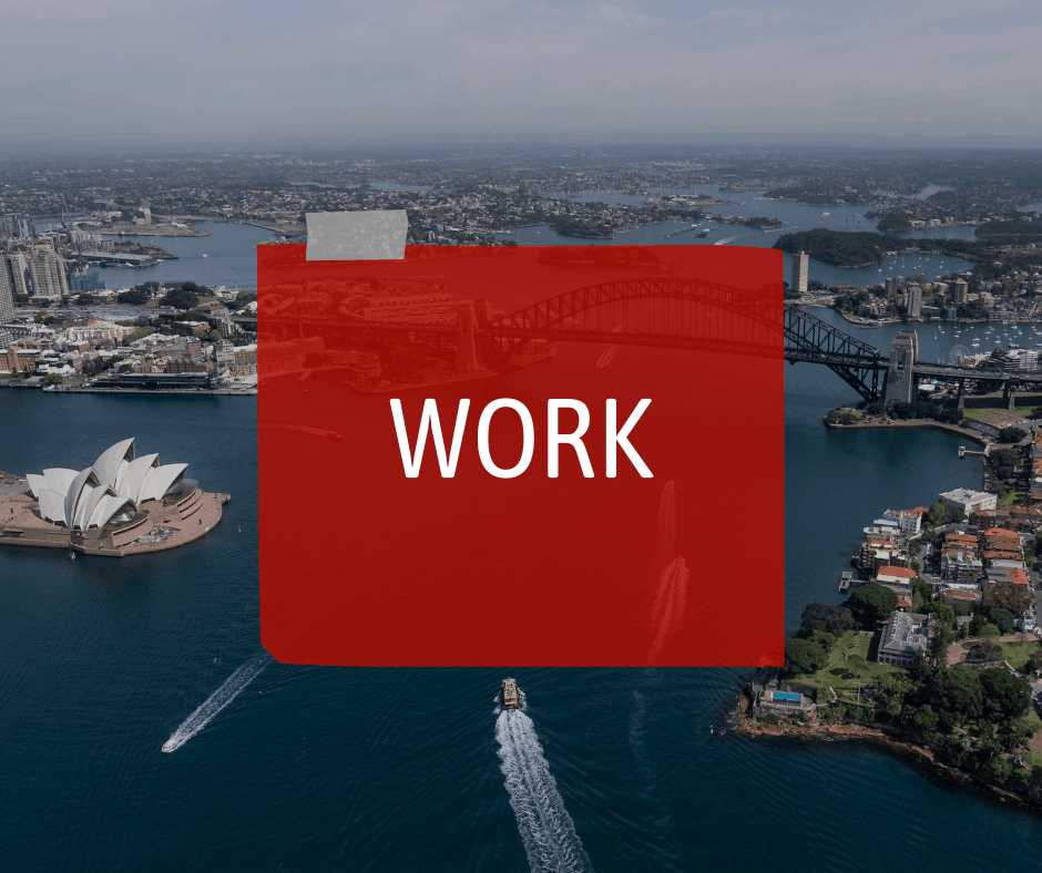 Work in Australia - Resources on Sterling Healthcare Resourcing