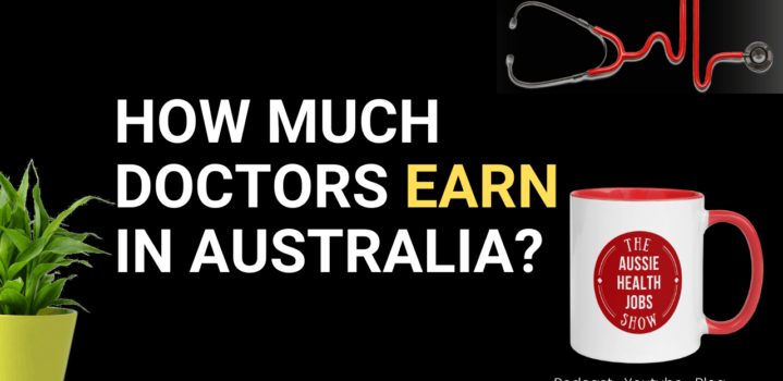 What is a doctor's salary in Australia?